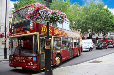 sightseeing tour bus 190689